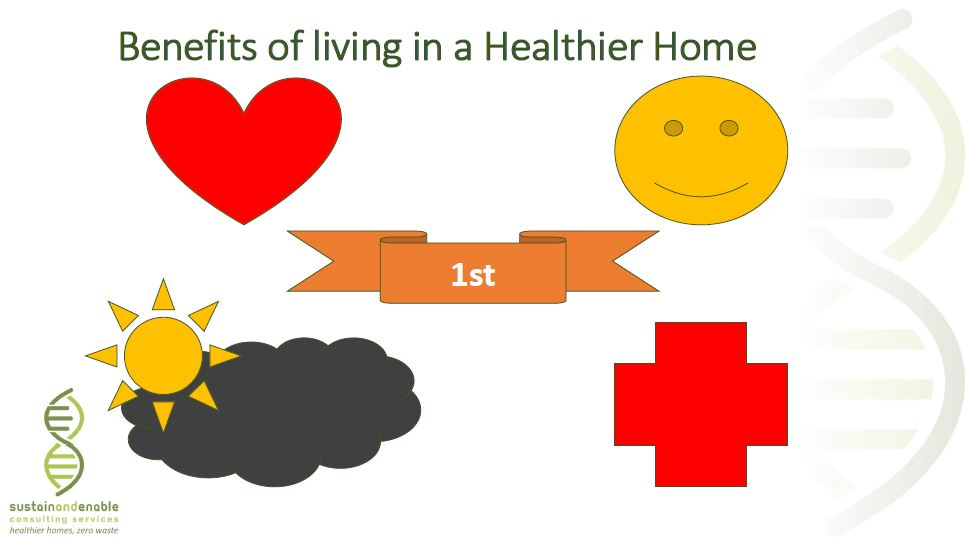 Benefits of living in a healthier home